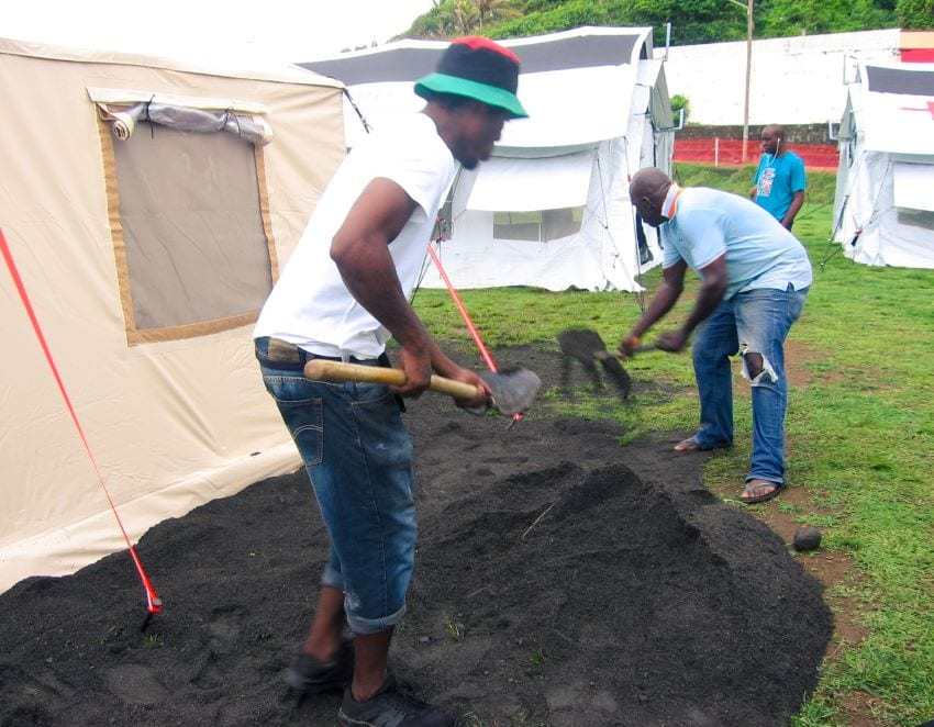 Field Medical Facility Welcomed In St. Vincent