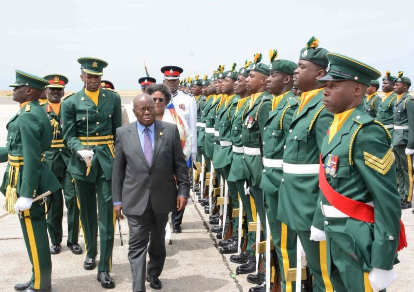 Joint Communiqué On The Official Visit Of Ghana's President