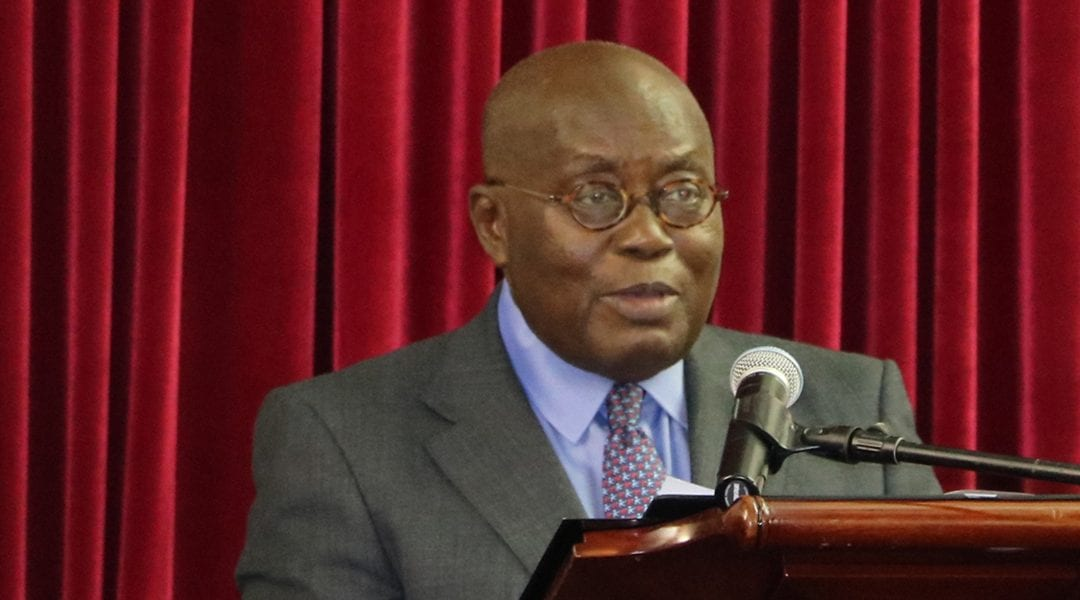 In His Own Words – President Akufo-Addo