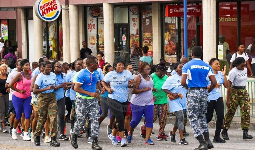 BDF Boot Camp Run & Aerobics Burn