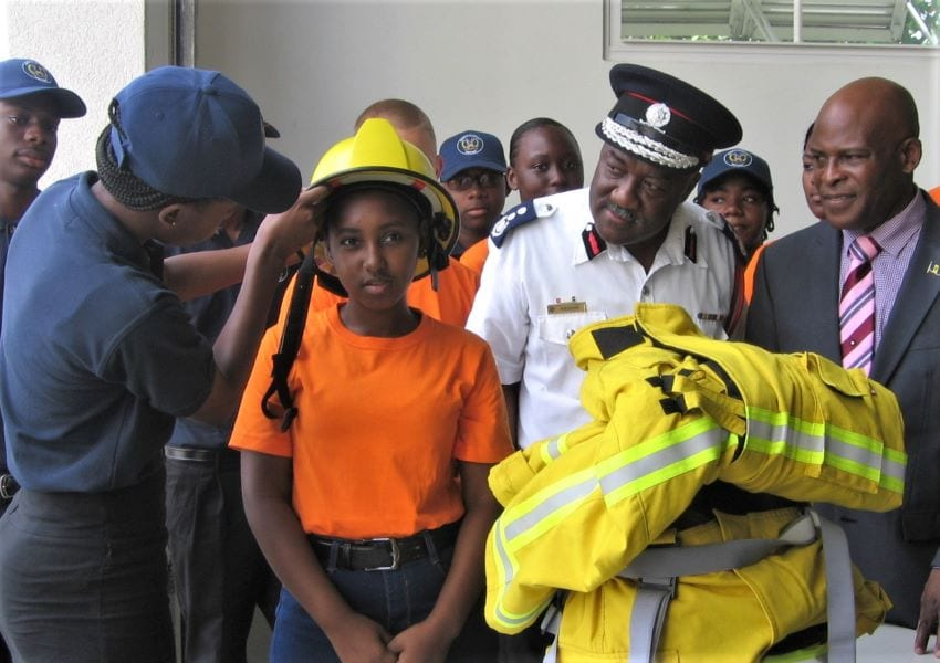 Fire Service Rebrands Junior Cadet Programme