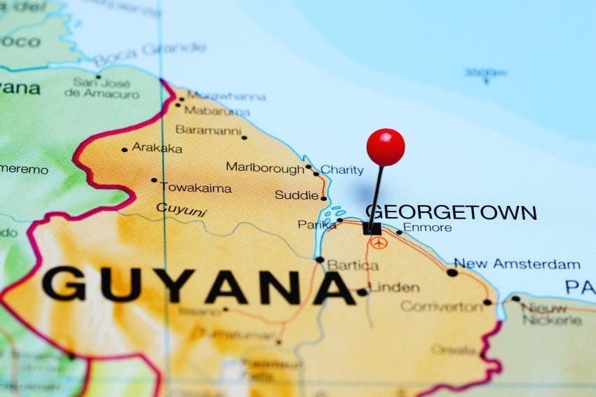 Presentation On Business Opportunities In Guyana