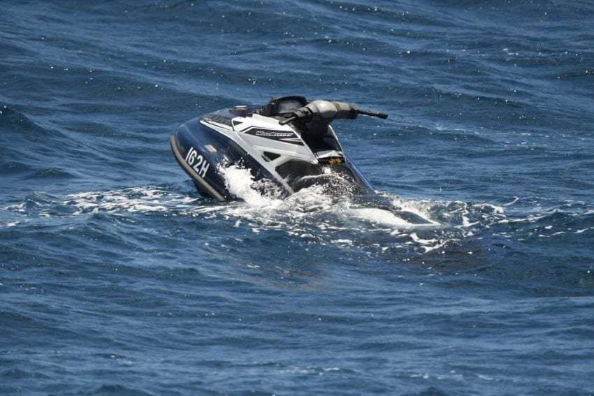 Jet Ski Recovered Off Guadeloupe Coast