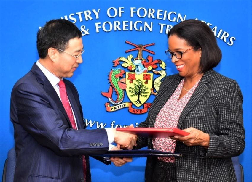 Barbados Signs Agreement With China