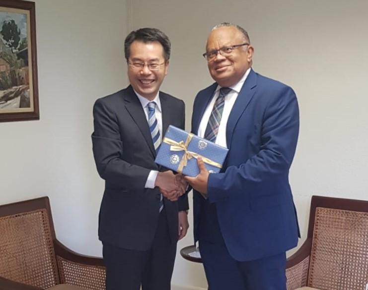 Republic Of Korea's Envoy Presents Credentials