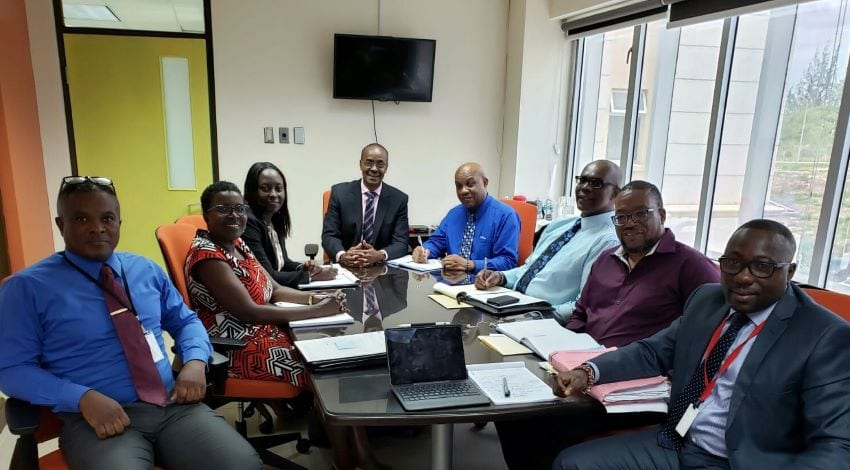 Minister Meets With Trust Fund Ltd. Board