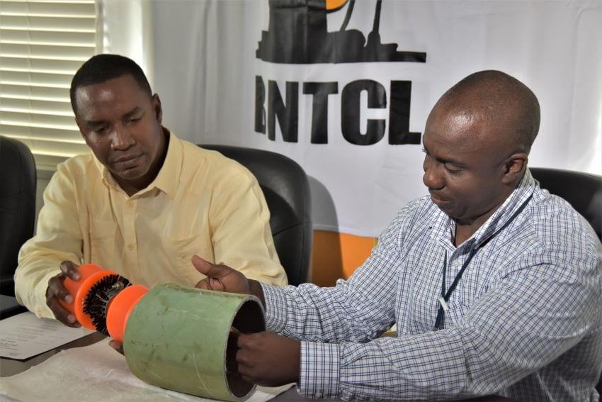 BNTCL's Pipeline Maintenance Project