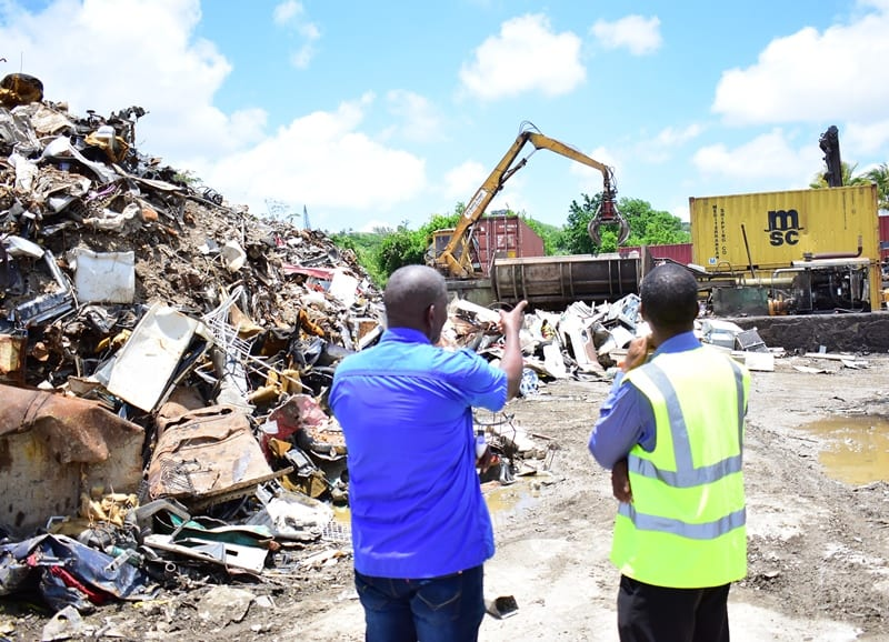 Major Cleanup Under Way At B's Recycling