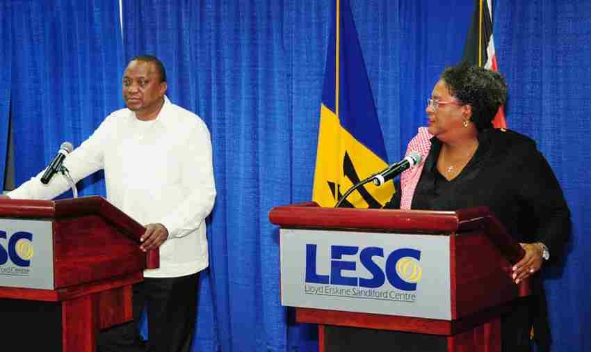 Barbados/Kenya Partnerships Highlighted