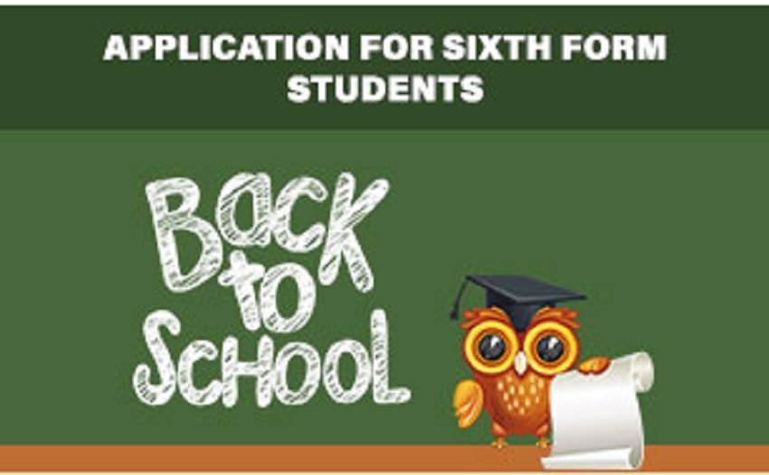 Online 6th Form Registration Form Available