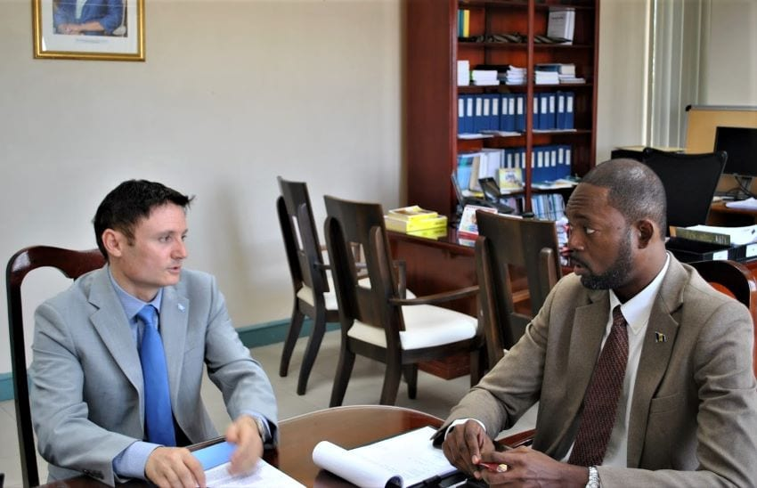 UN Official Learns About Justice Committee