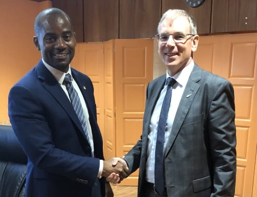 Barbados & New Zealand Talk About Climate Change