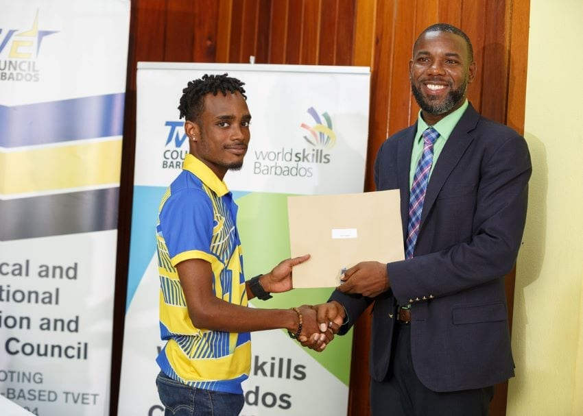 Barbados' Competitors To Worldskills Kazan Awarded