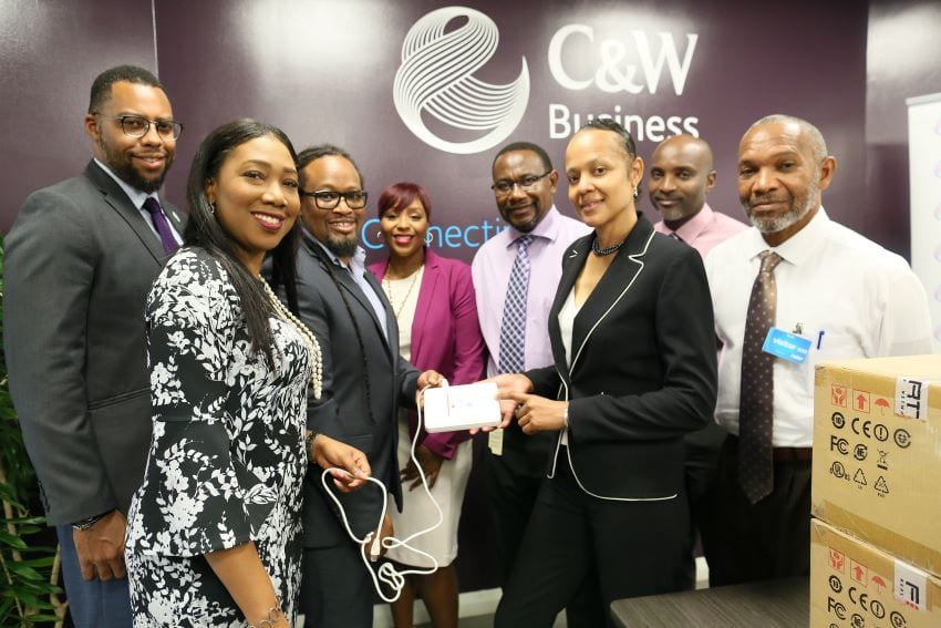 C&W Business Donates 63 Wireless Access Points