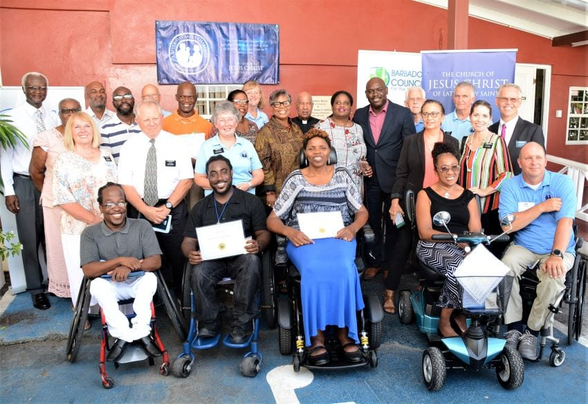Latter-Day Saints Charities Donate Wheelchairs