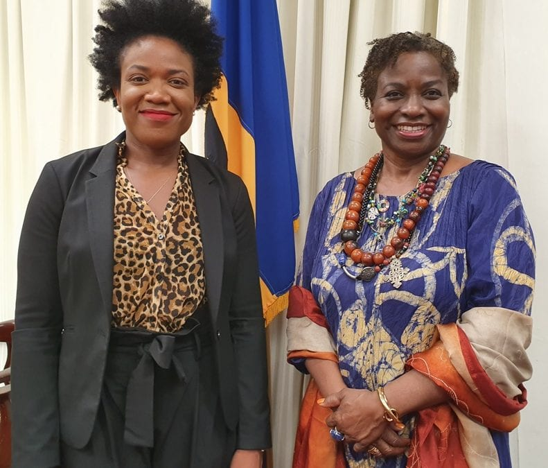 UNFPA Executive Director Meets Economic Affairs Minister
