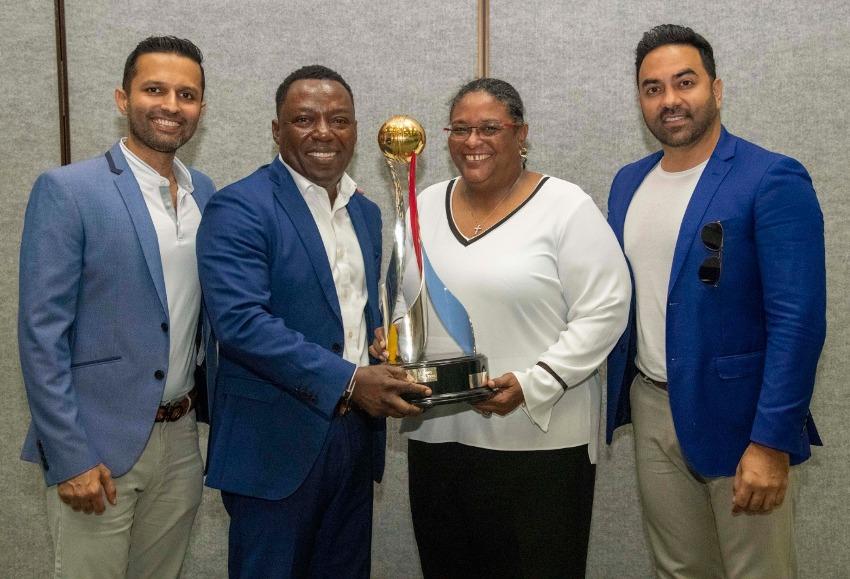 Motorcade For Barbados Tridents Tomorrow