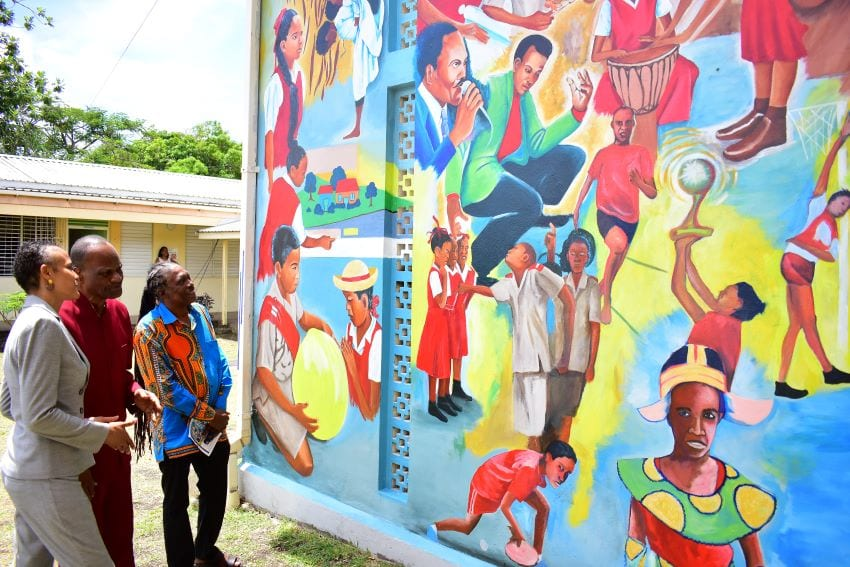 St. Mary's Mural Features Famous 'Sons Of The Soil'