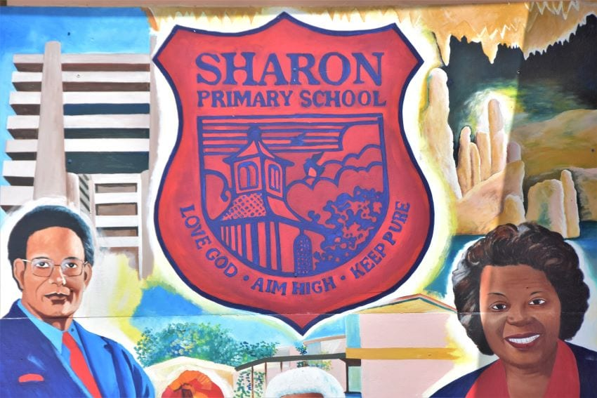 Re-opening of Sharon Primary School