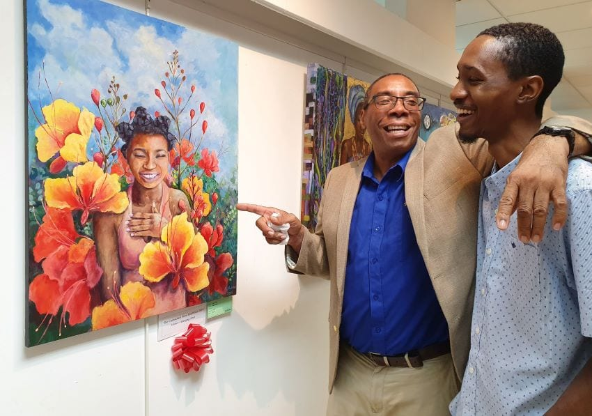 Exhibition An Example Of Bajan Togetherness