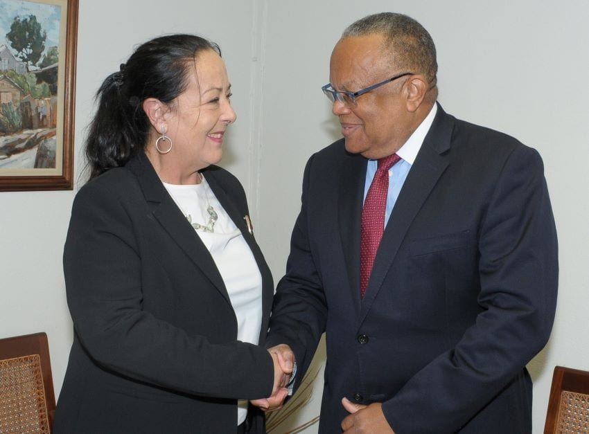 Barbados And Mexico Discuss Enhancing Relations