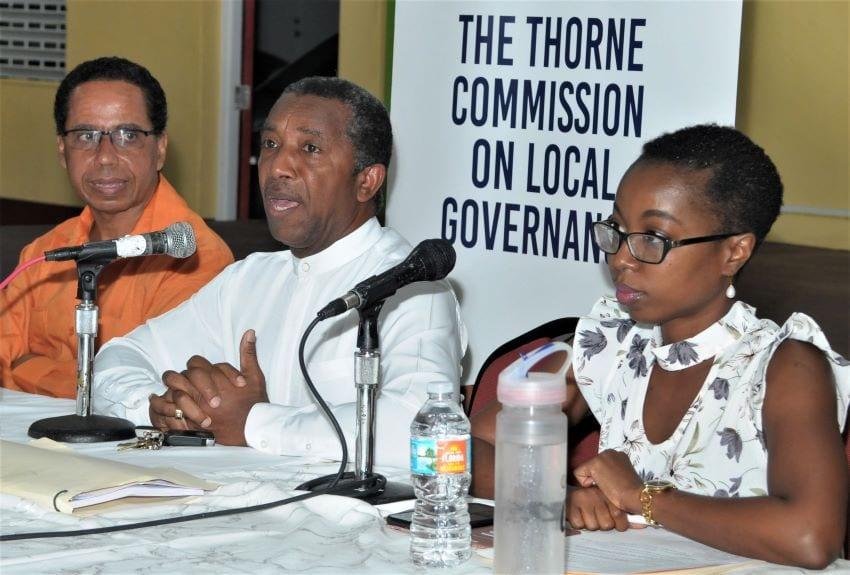 Thorne Commission's Meetings Resume Sunday