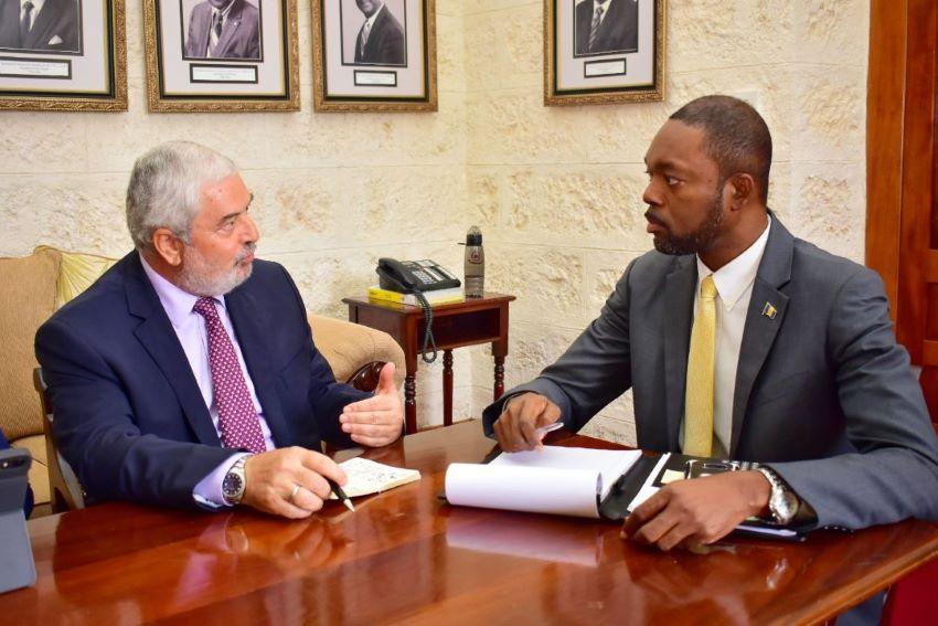 UNDP Representative Hears Of Plans For CSOs