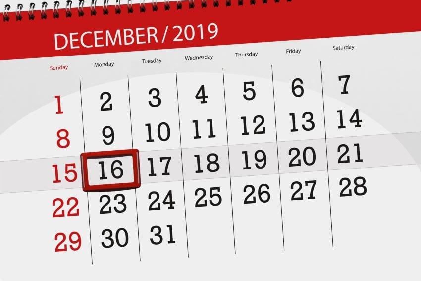 December Prepayment Deadline For Self-Employed