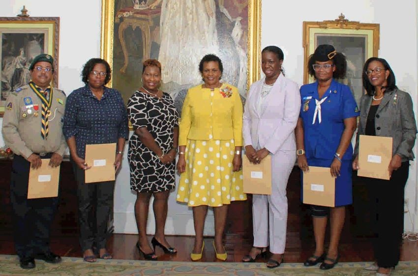 Governor General Gives To Charity