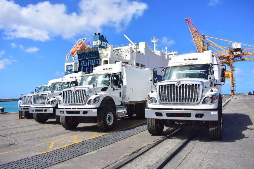 10 New Garbage Trucks As Promised