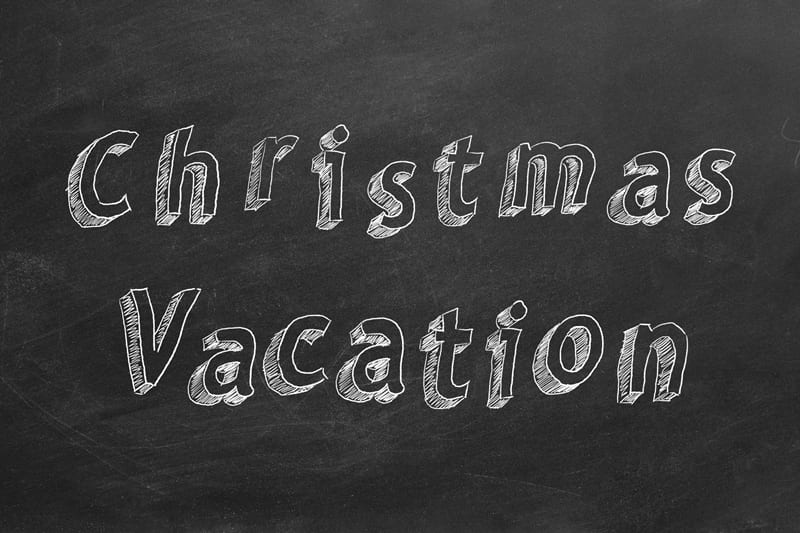 Schools To Close For Christmas Vacation Next Week