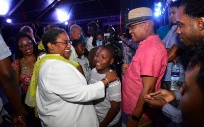 Another Opportunity To Share Ideas With PM Mottley