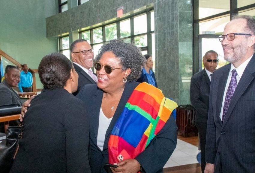 CARICOM Secretariat Staff Lauded By Mottley