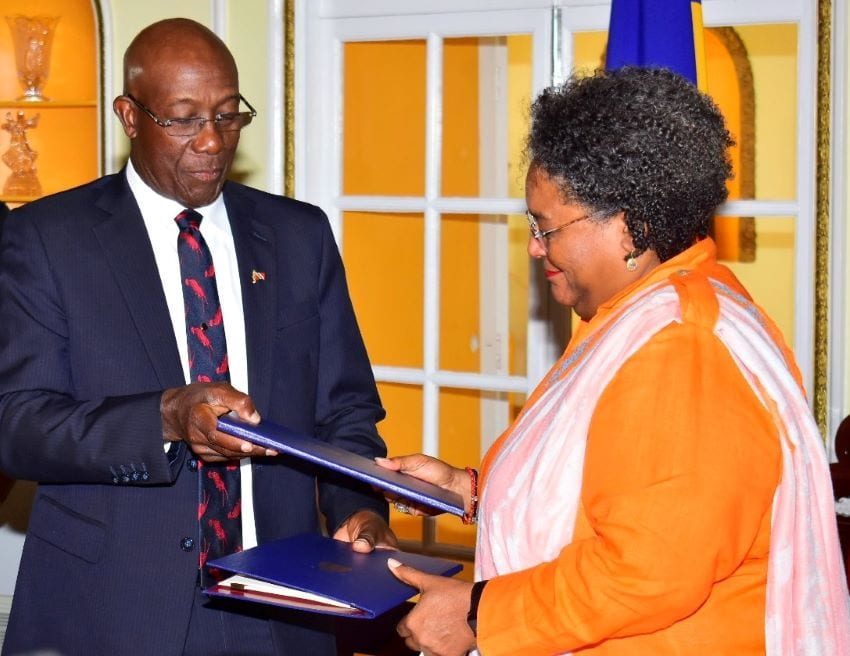 Barbados & Trinidad & Tobago Sign Unitization Agreement