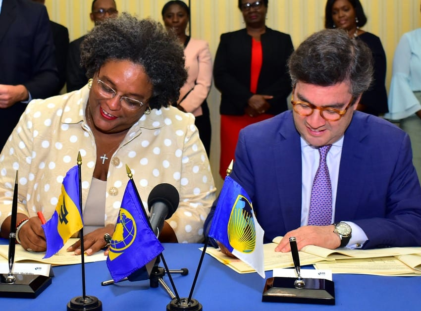 Government & IDB Sign Two Loan Agreements