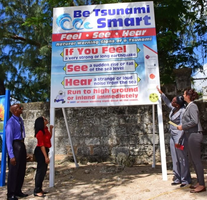 Tsunami Recognition Status For Holetown