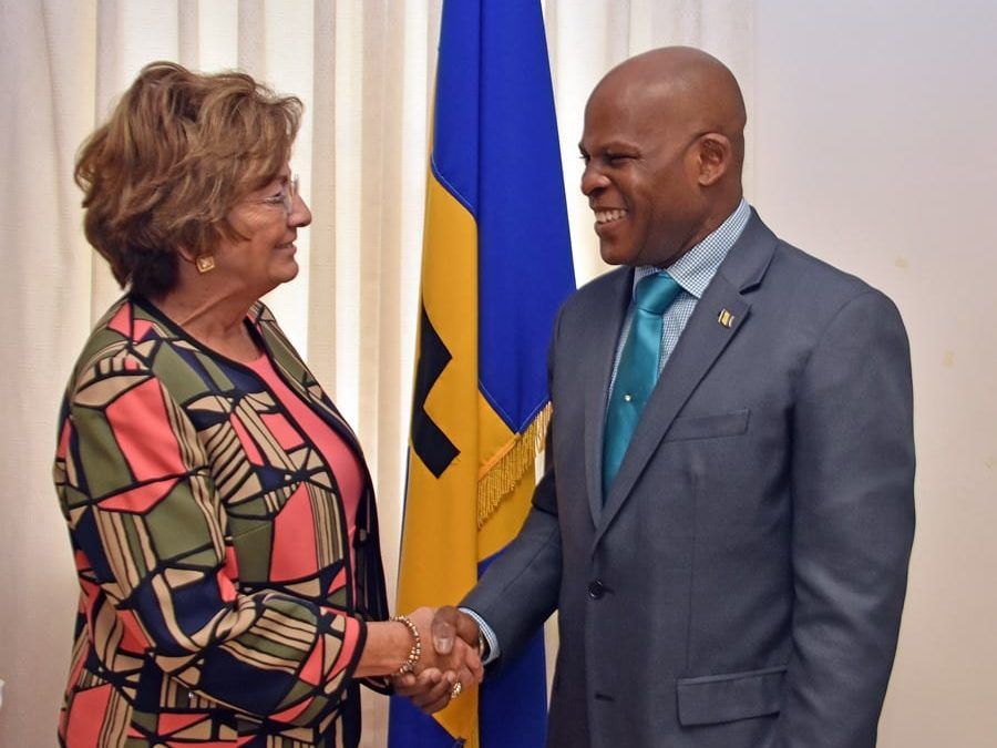 Barbados/US Talk About Priority Issues