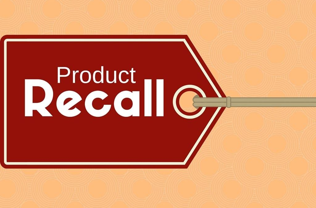 Statement On Recall Of Products