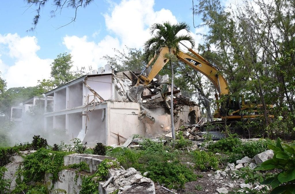 Demolition Phase Starts At Sam Lord's Castle