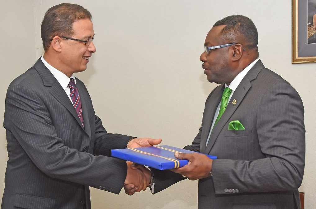 Barbados Welcomes Egyptian Ambassador