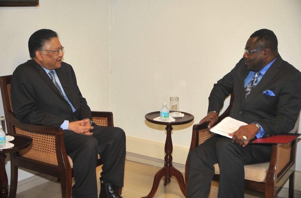 Thai Special Envoy Meets With Foreign Minister