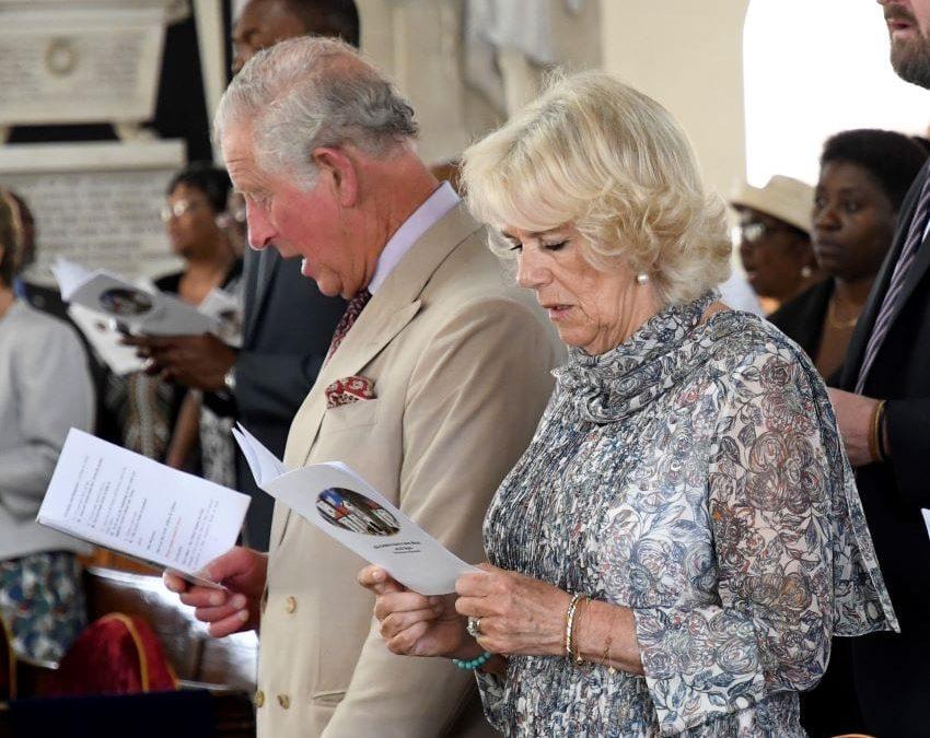 Royals Attend Church Service